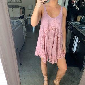 FREE PEOPLE babydoll dress (s)